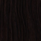 2. Original SO.CAP. Hair Extensions gelockt #2- dark chestnut