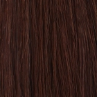 4. Original SO.CAP. Hair Extensions glatt #6- light chestnut